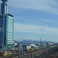 静岡東駅から望む富士山